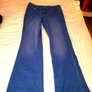 High rise boot cut juniors jeans size 17
